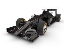 De donkere bruine auto van Formule 1 Stock Foto's