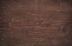 De donkere bruine gekraste houten scherpe textuur van de raadsmuur Royalty-vrije Stock Fotografie