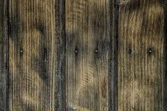 De donkere bruine Houten achtergrond van de plank bruine textuur Stock Afbeelding