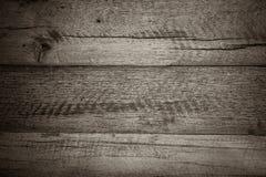 De donkere bruine houten textuur en de achtergrond van de plankvloer Stock Afbeeldingen