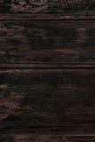 De donkere Bruine houten textuur, sluit omhoog van houten muur Abstracte rug Royalty-vrije Stock Fotografie