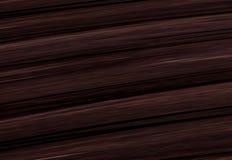 De donkere bruine houten textuur van de achtergrondvernisjetoon Royalty-vrije Stock Foto's