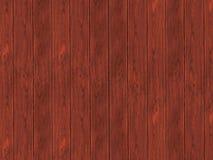 De donkere bruine houten vloer van de bureausoppervlakte - achtergrond Stock Foto