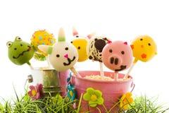 De cake van Pasen knalt Royalty-vrije Stock Afbeeldingen