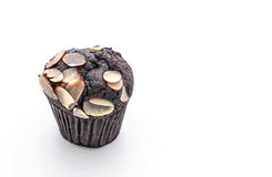 de donkere cake van de chocoladekop Royalty-vrije Stock Foto