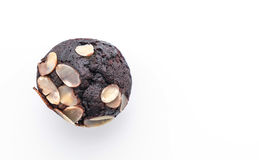 de donkere cake van de chocoladekop Royalty-vrije Stock Fotografie