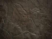 De donkere close-up van de grunge geweven muur Stock Foto
