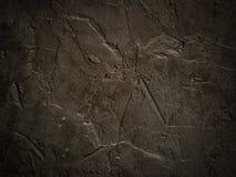 De donkere close-up van de grunge geweven muur Stock Foto's