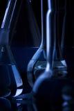 De donkere Close-up van de Wetenschap Royalty-vrije Stock Afbeeldingen
