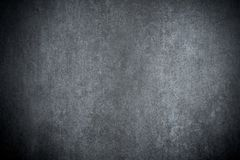 De donkere concrete achtergrond van de grungemuur Stock Fotografie