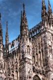 De donkere foto van HDR van de beroemde Kathedraal Duomo Royalty-vrije Stock Fotografie