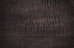 De donkere gekraste houten scherpe textuur van de raadsmuur Stock Fotografie
