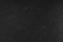 De donkere grijze muur van de grunge ruwe concrete textuur Stock Afbeelding