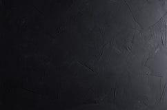 De donkere grijze muur van de grunge ruwe concrete textuur Stock Fotografie