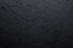 De donkere grijze muur van de grunge ruwe concrete textuur Royalty-vrije Stock Foto's