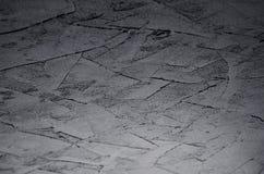 De donkere grijze muur van de grunge ruwe concrete textuur Stock Foto