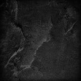 De donkere grijze zwarte achtergrond of de textuur van de leisteen Royalty-vrije Stock Fotografie