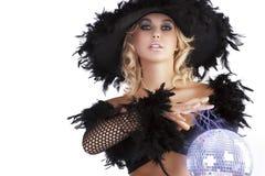 De donkere Halloween heks Royalty-vrije Stock Fotografie