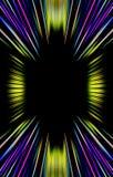 De donkere heldere achtergrond van strepen divergeert van het midden aan de randen Royalty-vrije Stock Afbeeldingen