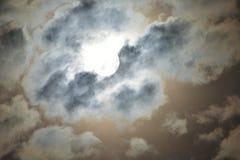 De donkere hemel kleurt hoogtepunt Royalty-vrije Stock Foto