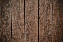 De donkere Houten Achtergrond van de Plank Stock Fotografie