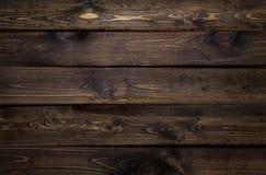 De donkere Houten Achtergrond van de Plank Stock Foto