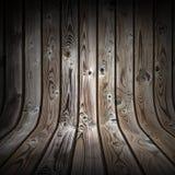 De donkere houten achtergrond van Grunge Royalty-vrije Stock Foto's