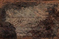 De donkere houten achtergrond van de schorstextuur met oud natuurlijk patroon donker Royalty-vrije Stock Fotografie