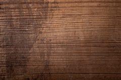 De donkere houten eiken achtergrond van de boomtextuur met oud natuurlijk patroon Stock Fotografie