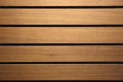 De donkere houten muurtextuur, kan als achtergrond worden gebruikt Royalty-vrije Stock Afbeelding