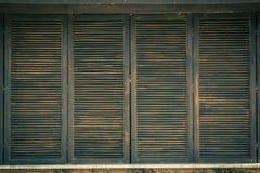 De donkere Houten textuur of de Achtergrond of het Patroon, verwerken Retro met filter Stock Fotografie