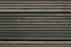 De donkere Houten Textuur van de Lijnvloer Stock Fotografie