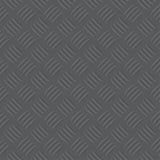 De donkere illustratie van het de plaatpatroon van de grijs ijzercontroleur Royalty-vrije Stock Foto's