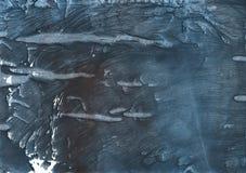 De donkere illustratie van de lei grijze kleurrijke waterverf Stock Afbeeldingen