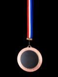 De donkere kant van de medaille Stock Foto