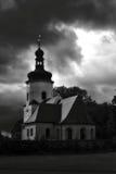 De donkere kerk Royalty-vrije Stock Afbeeldingen