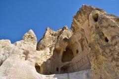 De donkere Kerk in Cappadocia Royalty-vrije Stock Afbeelding