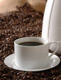 De donkere Koffie van het Braadstuk Royalty-vrije Stock Afbeeldingen