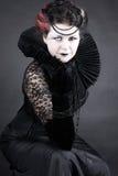 De donkere Koningin Royalty-vrije Stock Fotografie