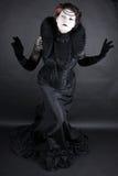 De donkere Koningin Royalty-vrije Stock Foto's