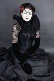 De donkere Koningin Stock Foto
