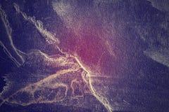 De donkere leiachtergrond of de textuur, kleur stemde van toepassing geweest Stock Foto's