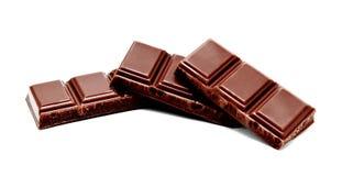 De donkere melkchocola verspert stapel Royalty-vrije Stock Fotografie
