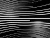 De donkere Metaalachtergrond van het Bouwontwerp Stock Foto