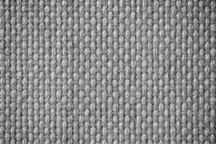 De donkere mono textielachtergrond van de toonvezel Stock Foto