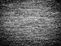 De donkere muur van baksteen oude slyle Stock Afbeeldingen