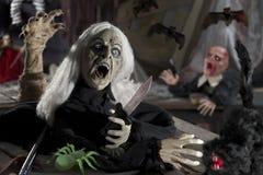 De donkere nacht van Halloween Stock Foto