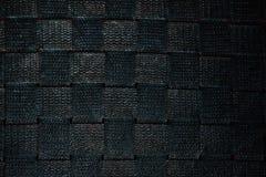 De donkere nylon achtergrond van de stoffentextuur Royalty-vrije Stock Fotografie