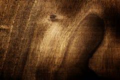 De donkere okkernoot handbrushed textuur Natuurlijke ruwe houten achtergrond Royalty-vrije Stock Foto