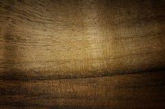 De donkere okkernoot handbrushed textuur Natuurlijke ruwe houten achtergrond Stock Afbeeldingen